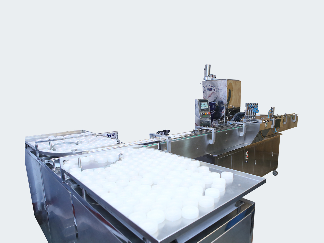 AJF-5H Automatic Hot Jar Filling Line